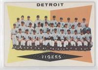 Checklist, Detroit Tigers Team