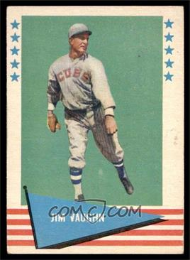 1961 Fleer Baseball Greats - [Base] #82 - Jim Vaughn [VGEX]