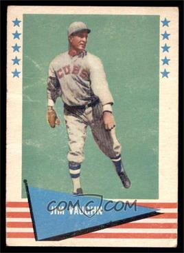 1961 Fleer Baseball Greats - [Base] #82 - Jim Vaughn [GOOD]