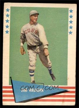1961 Fleer Baseball Greats - [Base] #82 - Jim Vaughn [VG]
