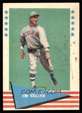 1961 Fleer Baseball Greats - [Base] #82 - Jim Vaughn [VG]