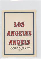 Los Angeles Angels Team