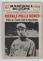 Fred Merkle [Poor]