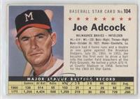 Joe Adcock (Perforated)