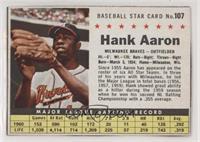 Hank Aaron (Hand Cut) [NoneNoted]