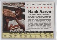 Hank Aaron (Hand Cut) [Authentic]