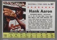 Hank Aaron (Hand Cut) [Noted]
