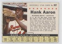 Hank Aaron (Perforated) [GoodtoVG‑EX]