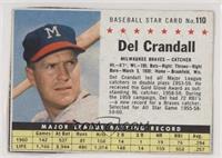 Del Crandall (Hand Cut) [Noted]