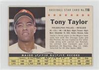 Tony Taylor (Perforated)