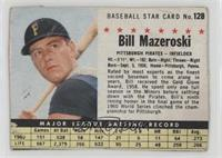 Bill Mazeroski (Hand Cut) [PoortoFair]