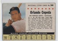 Orlando Cepeda (Hand Cut) [GoodtoVG‑EX]