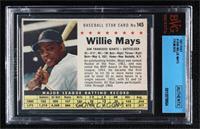 Willie Mays (Hand Cut) [BVGAuthentic]