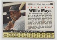 Willie Mays (Hand Cut) [Good to VG‑EX]