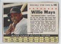 Willie Mays (Hand Cut) [Authentic]