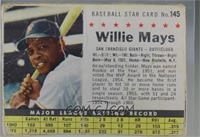Willie Mays (Hand Cut) [Poor]