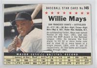 Willie Mays (Hand Cut) [GoodtoVG‑EX]