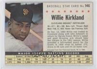 Willie Kirkland (Perforated, Traded from San Francisco Giants, NL in 1960.)