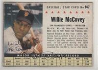 Willie McCovey (Hand Cut)