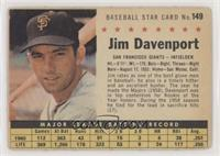 Jim Davenport (Perforated) [Good to VG‑EX]