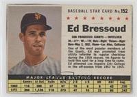 Eddie Bressoud (Hand Cut) [Noted]