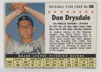 Don Drysdale (Hand Cut) [Good to VG‑EX]