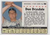 Don Drysdale (Hand Cut) [Authentic]