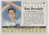 Don Drysdale (Perforated) [Authentic]