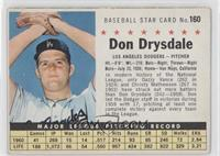 Don Drysdale (Perforated) [GoodtoVG‑EX]