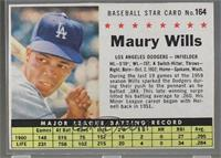 Maury Wills (Hand Cut) [PoortoFair]