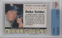 Duke Snider (Hand Cut) [BVGAuthentic]