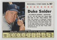 Duke Snider (Hand Cut) [Noted]