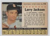 Larry Jackson (Hand Cut) [Noted]