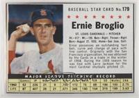 Ernie Broglio (Hand Cut) [Noted]