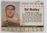 Ed Bailey (Hand Cut) [Poor]
