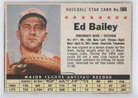 Ed Bailey (Hand Cut)