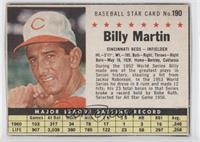 Billy Martin (Hand Cut)