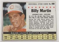 Billy Martin (Hand Cut) [Good to VG‑EX]
