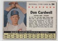 Don Cardwell (Hand Cut) [GoodtoVG‑EX]