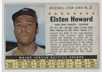 Elston Howard (Hand Cut) [GoodtoVG‑EX]