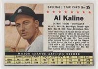 Al Kaline (Hand Cut)
