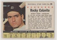 Rocky Colavito (Hand Cut)