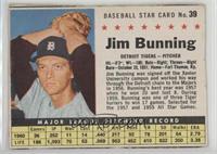 Jim Bunning (Hand Cut) [Noted]