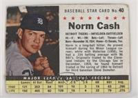 Norm Cash (hand cut) [Poor to Fair]
