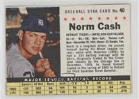 Norm Cash (hand cut) [GoodtoVG‑EX]