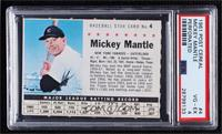 Mickey Mantle (Perforated) [PSA 4 VG‑EX]