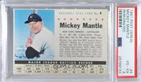Mickey Mantle (Perforated) [PSA4VG‑EX]