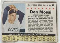 Don Mossi (Hand Cut) [Poor]