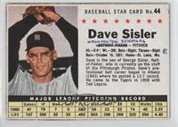 Dave Sisler [PoortoFair]