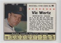 Vic Wertz (Hand Cut) [Poor]